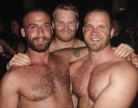 This is more gay bears in their natural habitat. Bear Pride, bitches! WOOF!